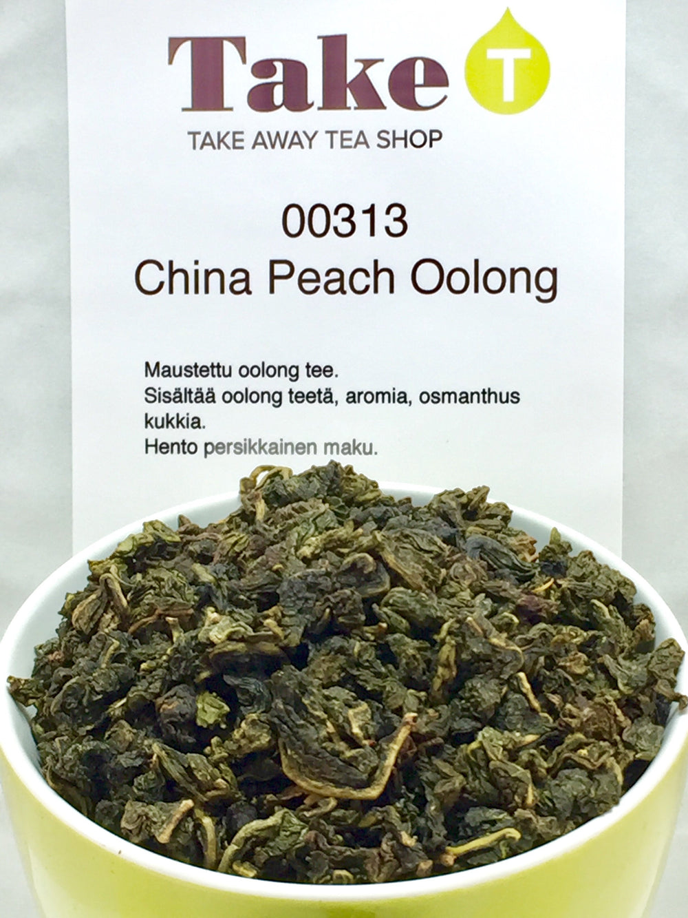 China Peach Oolong