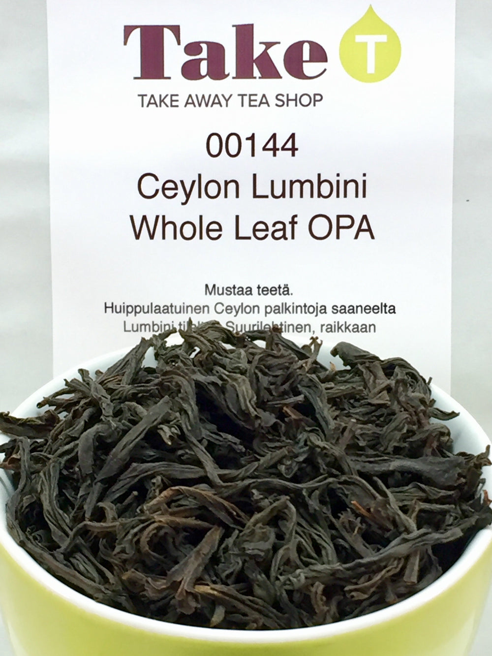 Ceylon Lumbini Whole Leaf OPA