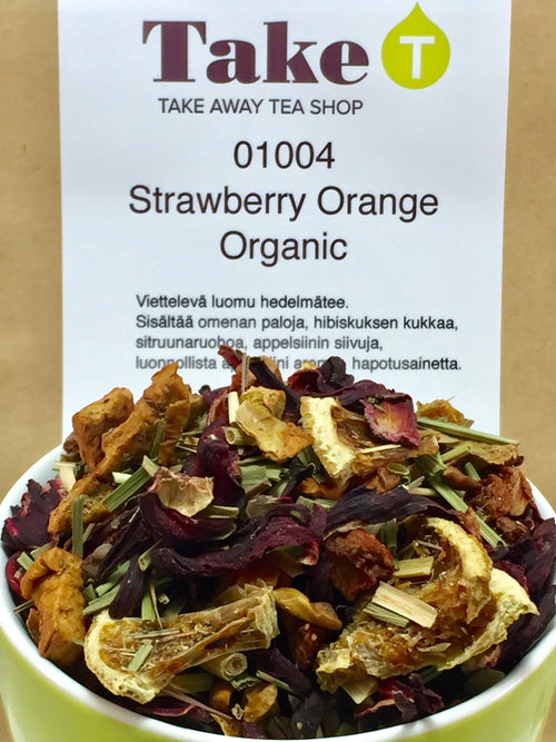 Strawberry Orange Organic