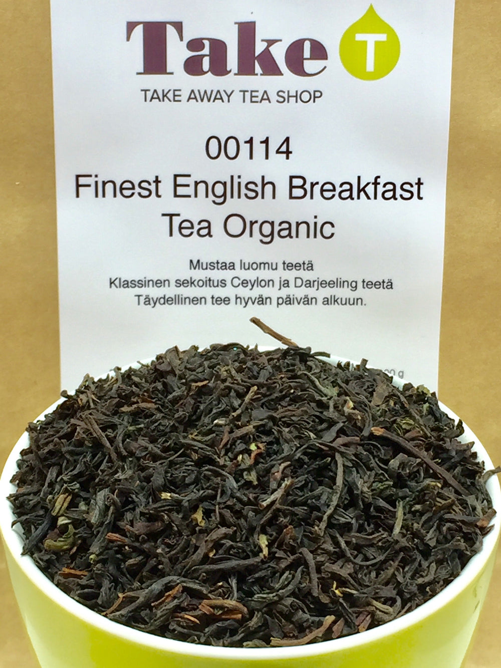 Finest English Breakfast Tea Organic