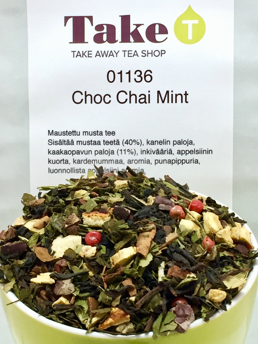 Black Tea Choc Chai Mint
