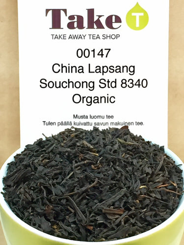 China Lapsang Souchong Std 8340 Organic