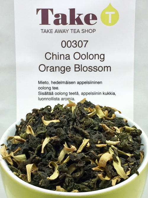 China Oolong Orange Blossom