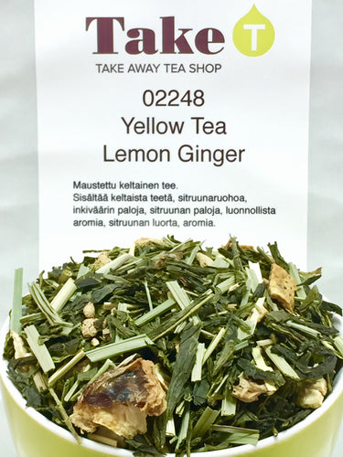 Yellow Tea Lemon Ginger