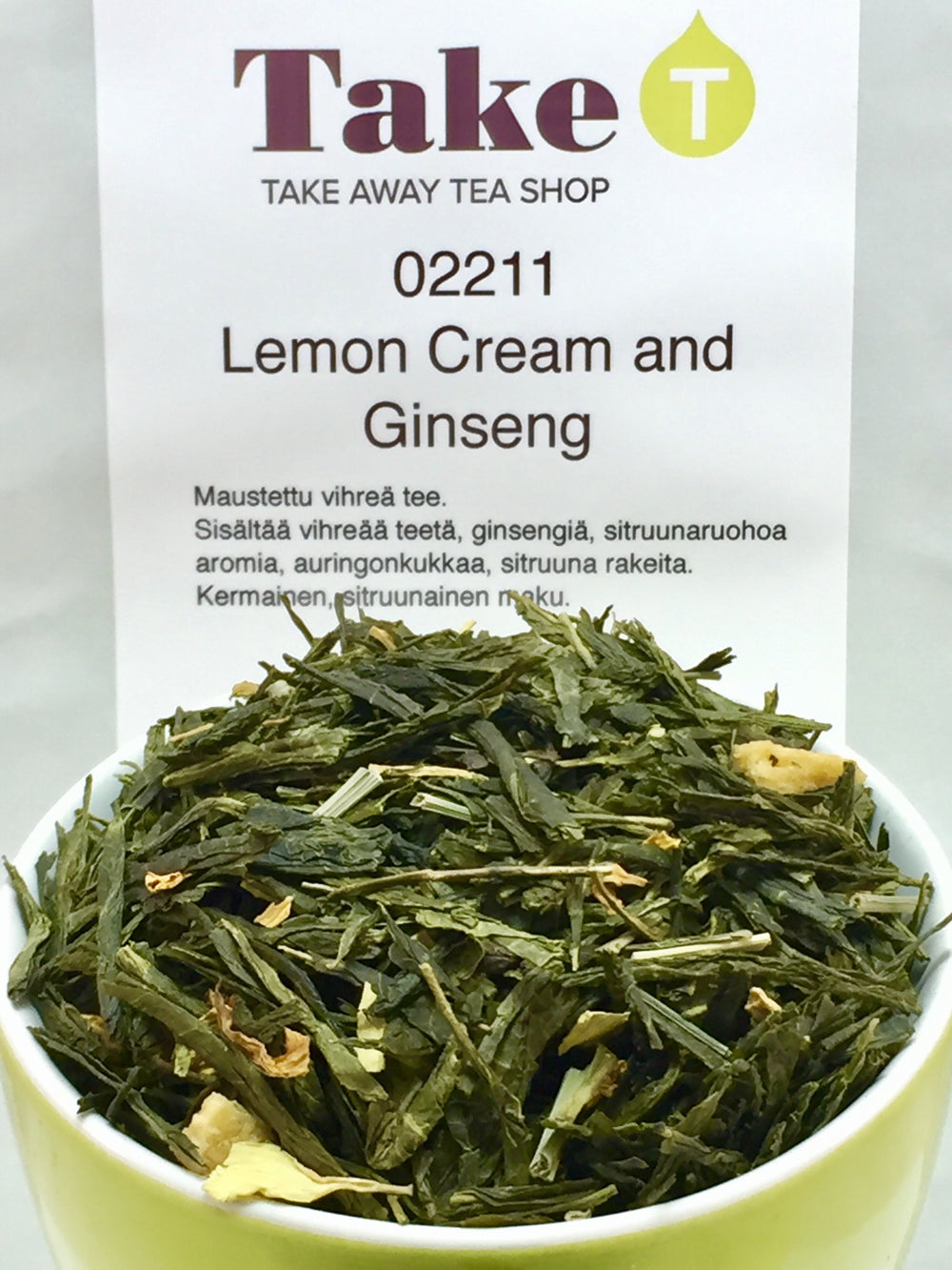 Lemon Cream with Ginseng