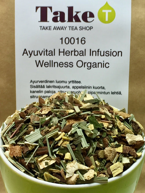 Ayuvital Herbal Infusion Wellness Organic