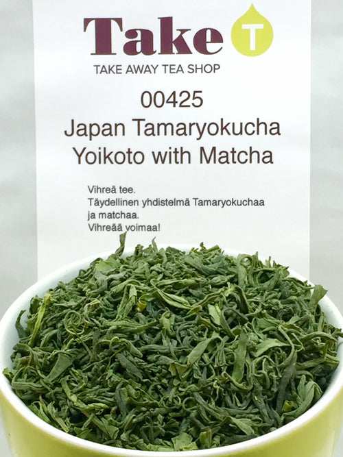 Japan Tamaryokucha Yoikoto with Matcha