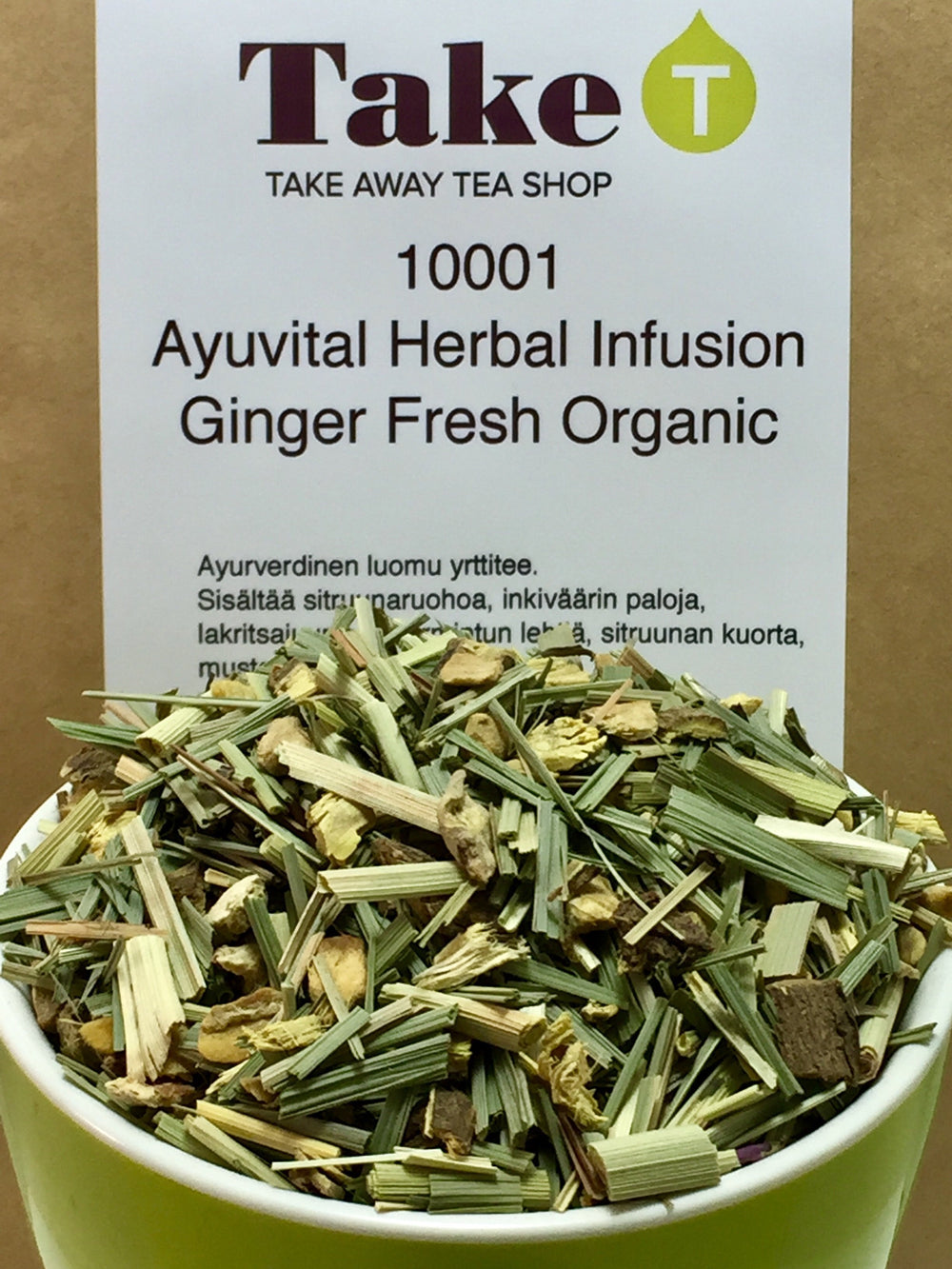 Ayuvital Herbal Infusion Ginger Fresh Organic