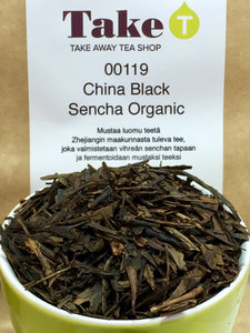 China Black Sencha Organic
