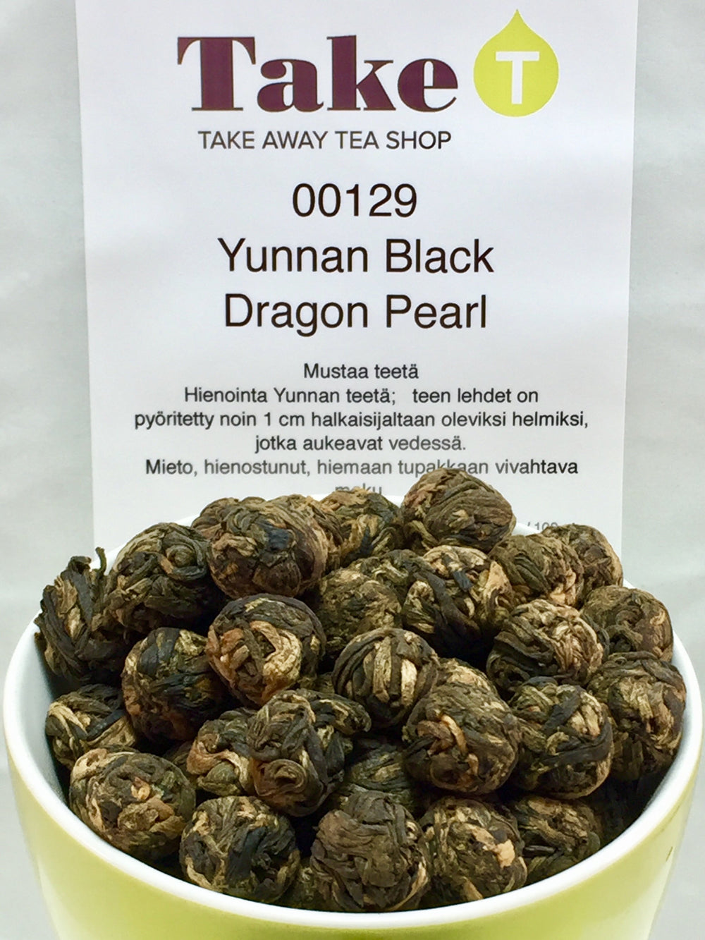 Yunnan Black Dragon Pearl