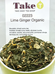 Lime Ginger Organic