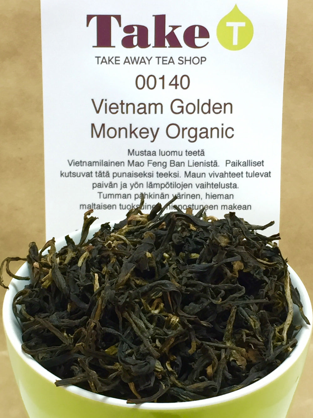 Vietnam Golden Monkey Organic