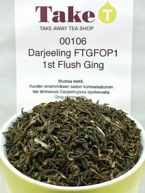 Darjeeling First Flush FTGFOP1 Ging