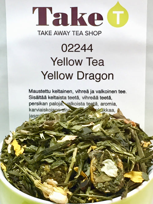Yellow Tea Yellow Dragon