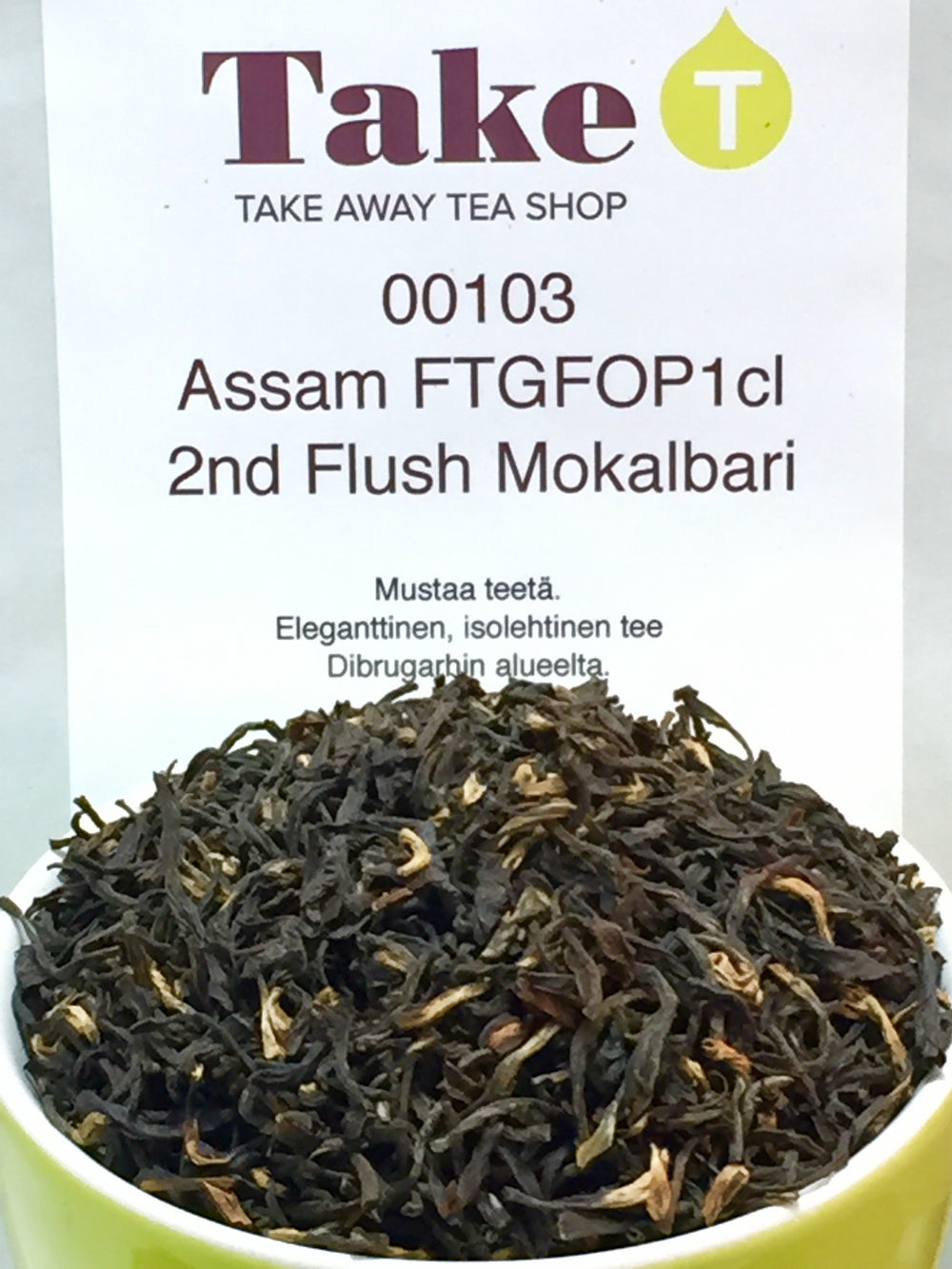 Assam second flush FTGFOPIcl Mokalbari
