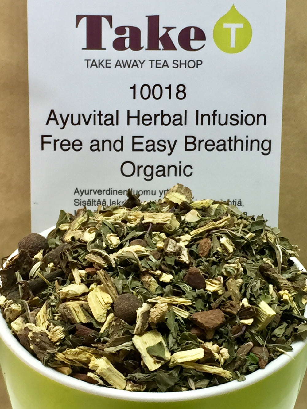 Ayuvital Herbal Infusion Free and Easy Breathing Organic