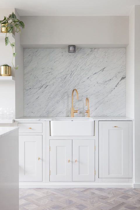 Marble laundry room