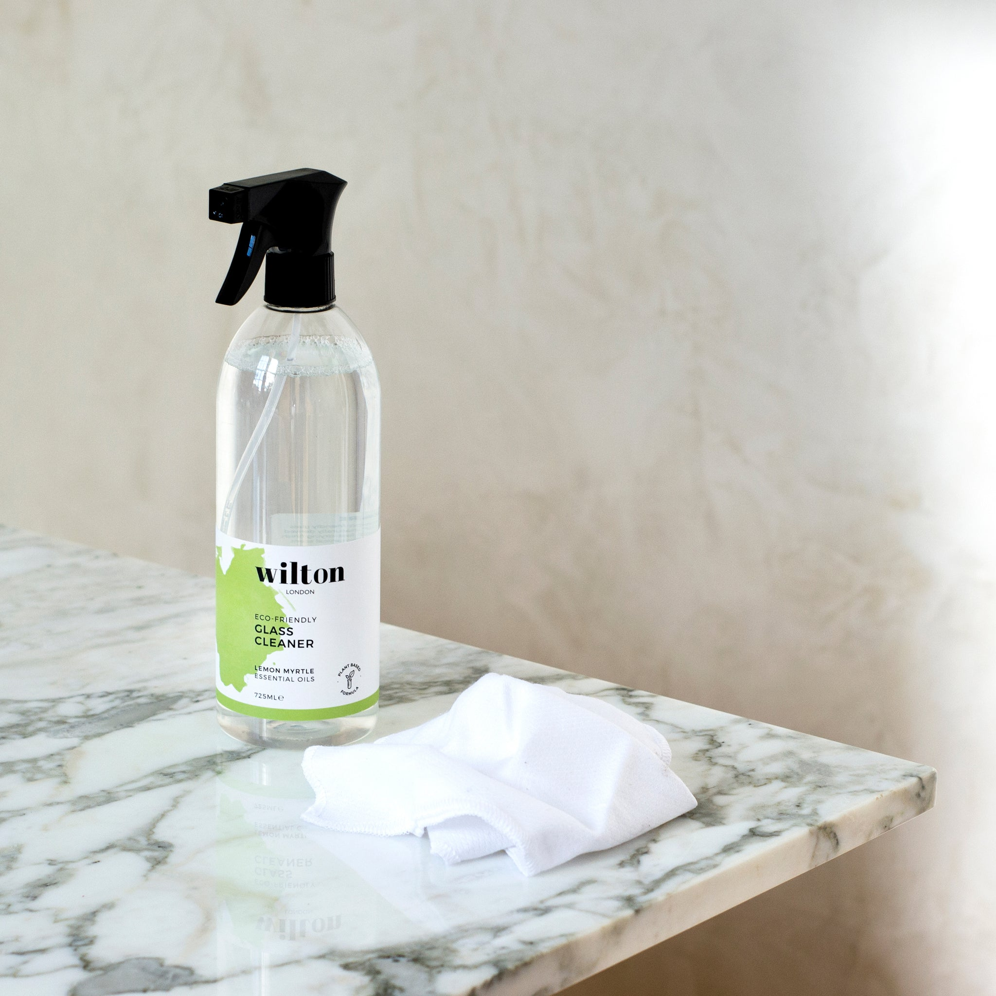 Eco Lemon Myrtle Glass, Window & Mirror Cleaner Spray