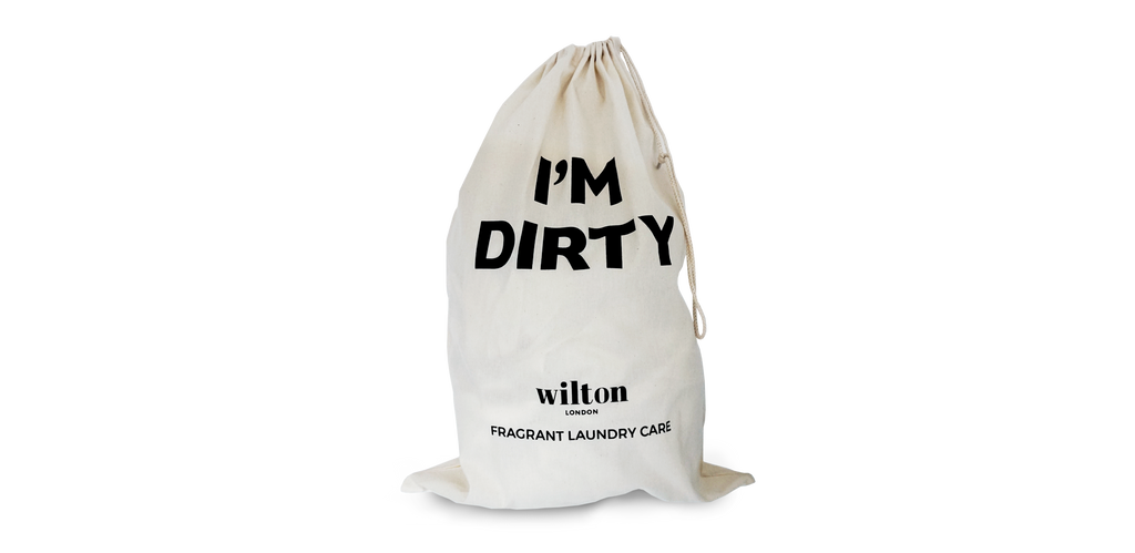I'm Dirty Natural Cotton Laundry Bag