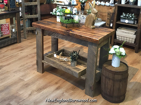 primitive kitchen island