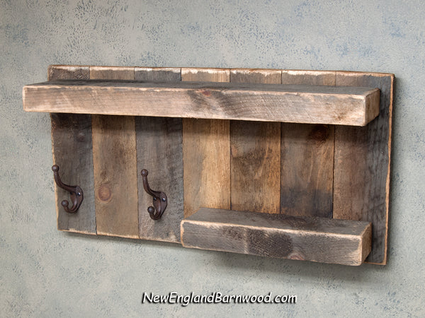 farmhouse bathroom shelf