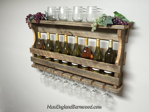 farmhouse wedding gift wine rack