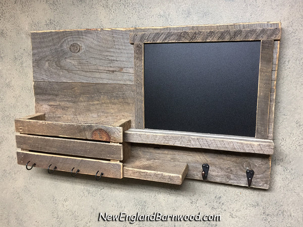 rustic mail holder