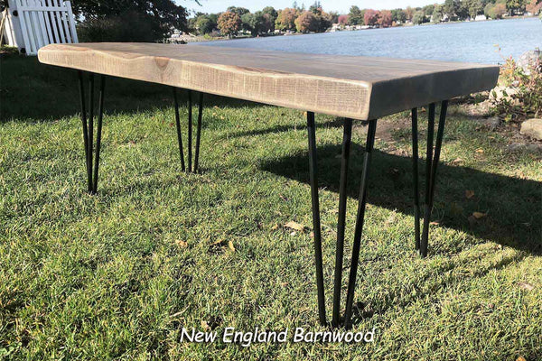 hairpin leg rustic coffee table