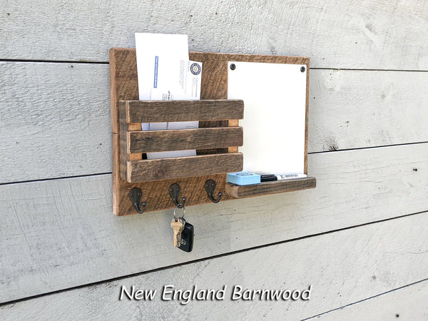 Wooden Wall Organizer