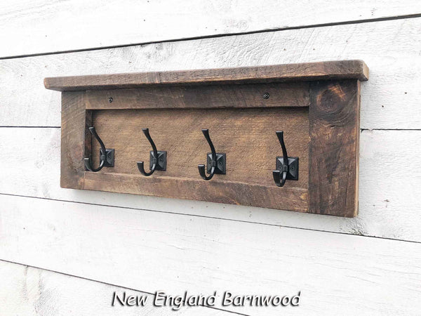 rustic modern farmhouse coat rack