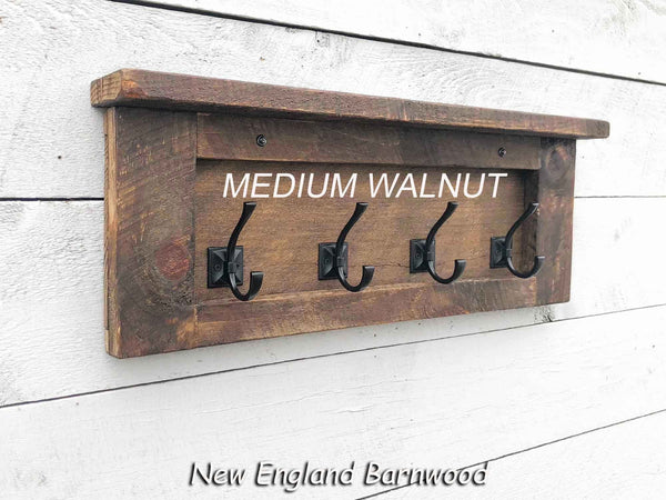rustic modern coat rack