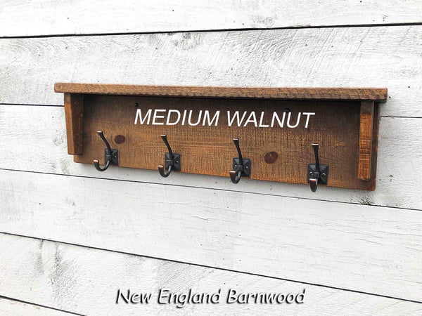 rustic modern farmhouse mudroom shelf with hooks
