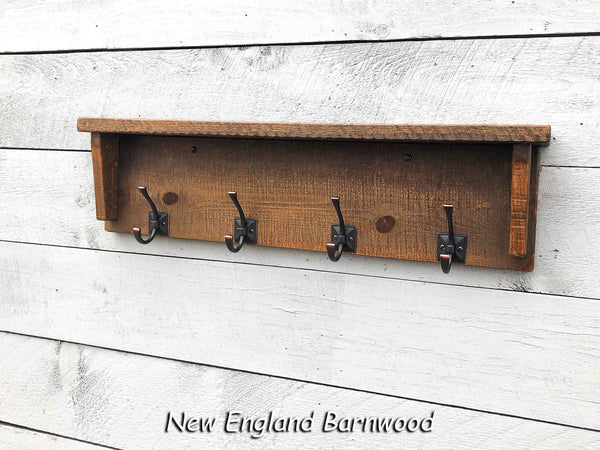 Farmhouse Mudroom Wall Mounted Coat Rack