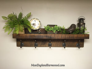 farmhouse wall shelves