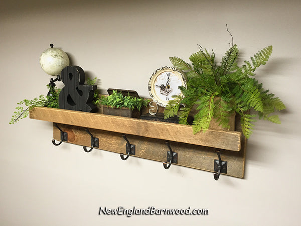 vintage style bathroom shelf