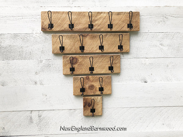 Farmhouse Wooden Wall Mounted Coat Rack