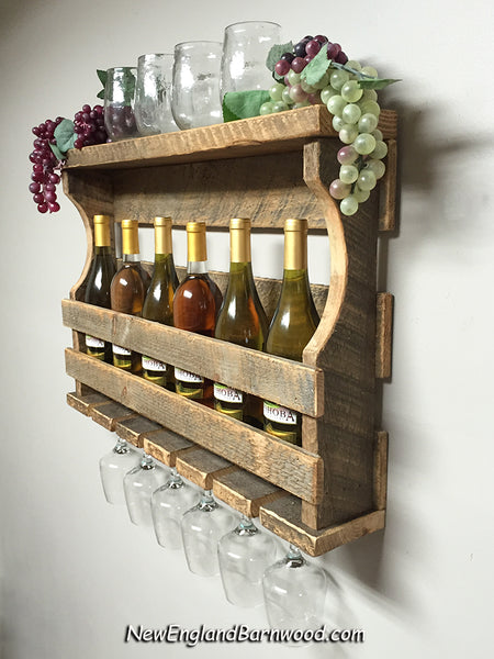 farmhouse wine rack