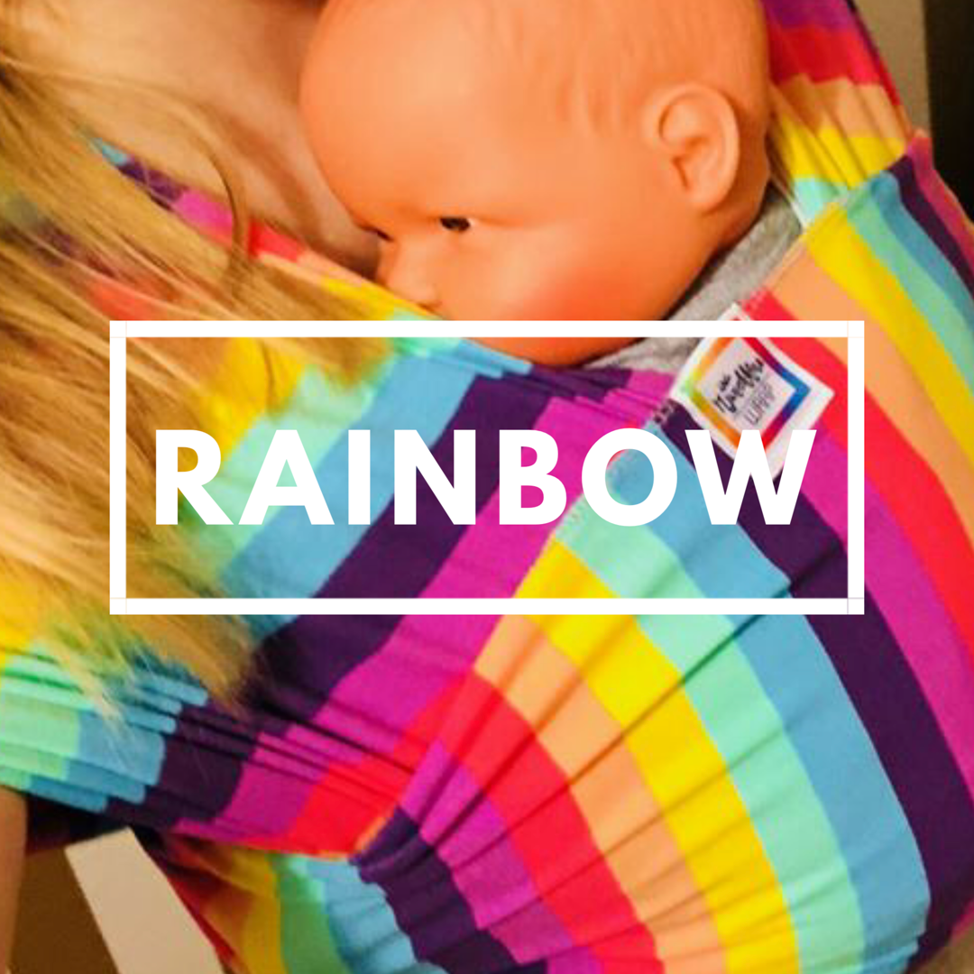 Little Munchkins Baby Wrap - RAINBOW - LIMITED EDITION!!