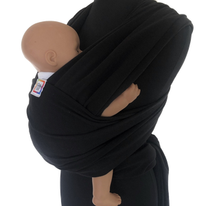 Little Munchkins® Baby Wrap - Black