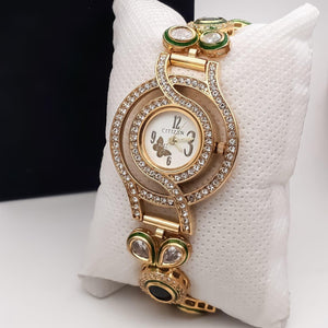 American Diamonds Embellished Fashion Watch for Women - Citizen - La Veliere