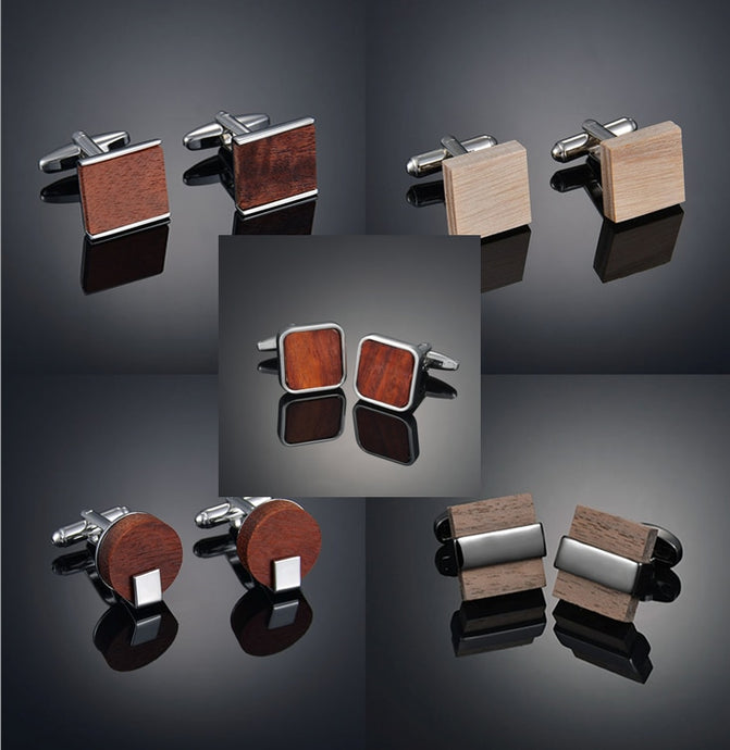 High-end men's French business cuffs
