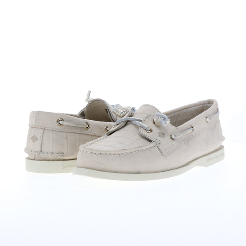 AUTHENTIC ORIGINAL VIDA CROC NUBUCK BOAT / DAMA