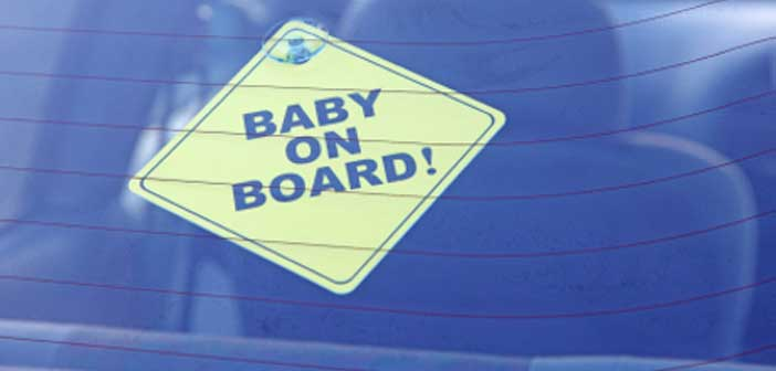 'Baby on board' sticker urban myth turns out to be true