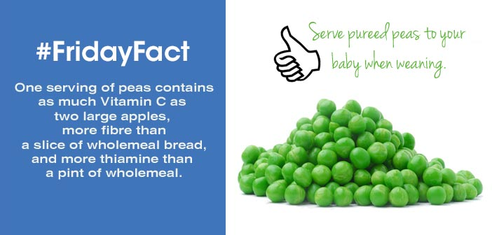 #FridayFact…Peas. Did you know?