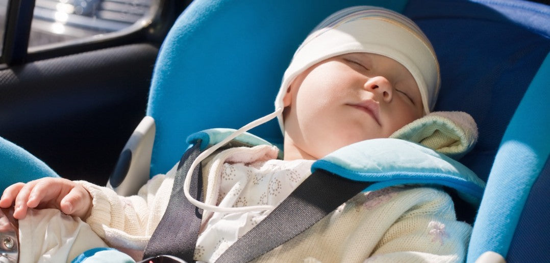 Is it safe for my reflux baby to sleep in a car seat?
