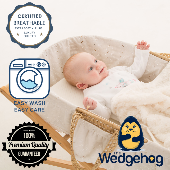 Quilted Wedgehog® Deluxe - 28cm Moses Reflux Wedge - includes Free Bundled Reflux eBook - The Wedgehog®