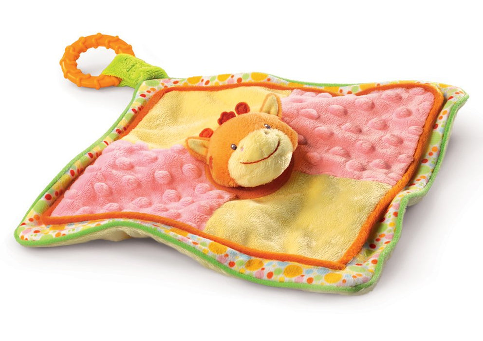 Russ Berrie - Babies Love To Learn - Giraffe Comforter