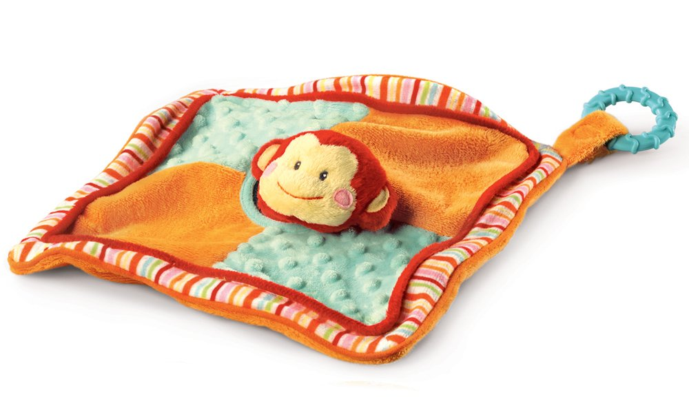 Russ Berrie - Babies Love To Learn - Monkey Comforter