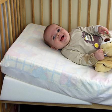 Bamboo Wedgehog® Deluxe - 70cm Cot Bed Reflux Wedge - includes Free Bundled Reflux eBook - The Wedgehog®