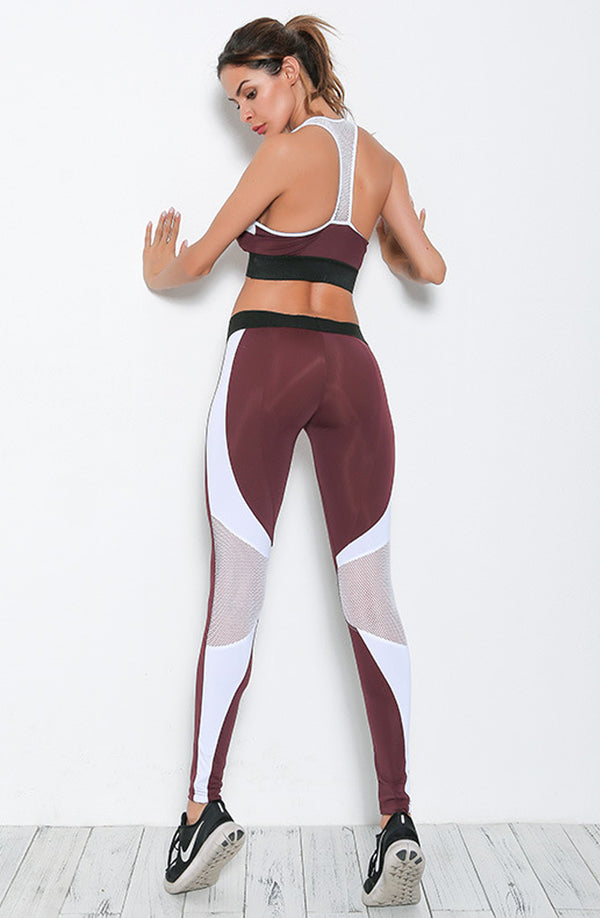 Maroon Athletic Set